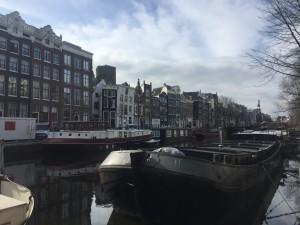 1.Amsterdam - grands canaux - Singel