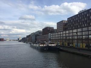 61.Amsterdam - quartier rénové de Oostelijk Havengebied